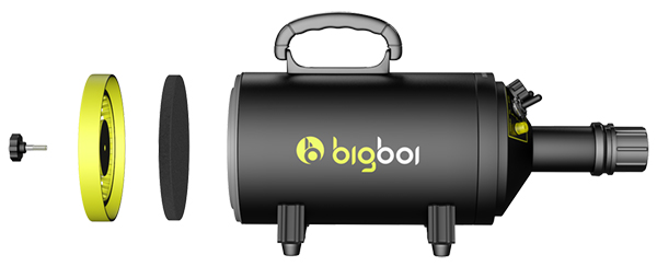 Bigboi Blowr Mini Powerful Air Blower Touch Less Dryer