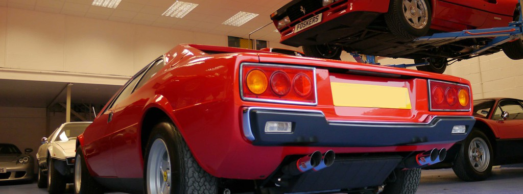 Gloss Enhanced Ferrari Dino 308 GT4 Wins 'Best in Class'