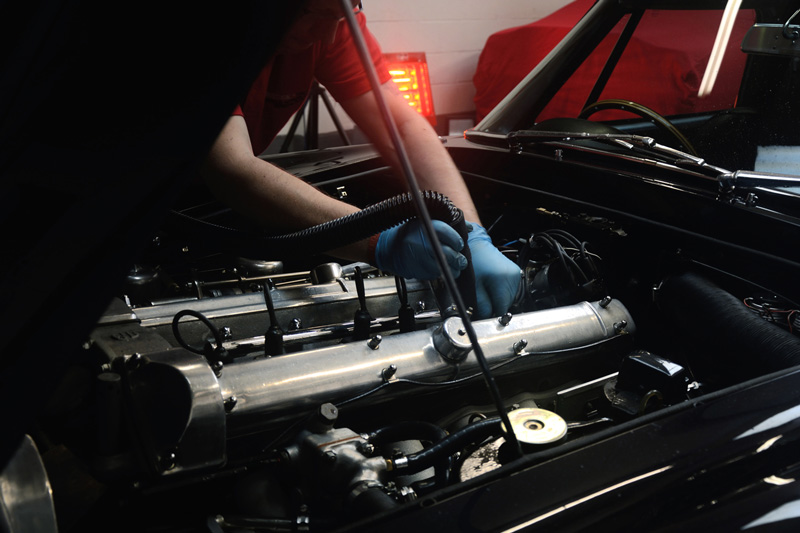 2.2 Engine Bay Cleaning & Drying