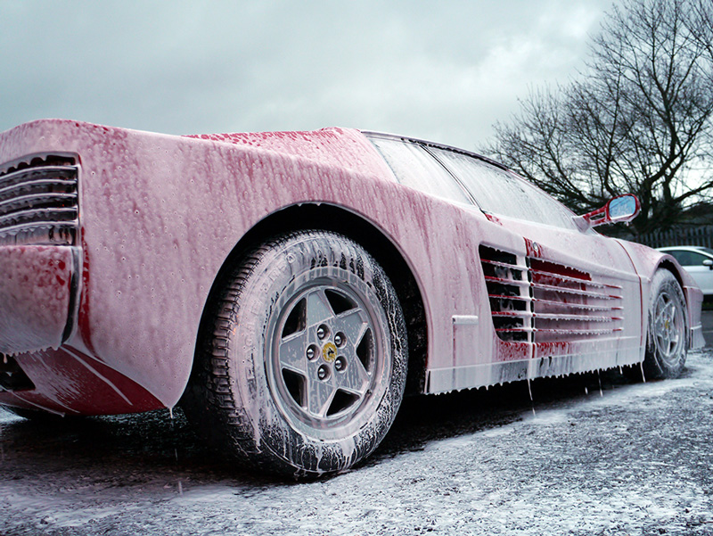 4.1 Pre-Wash (Snow Foam) Applied Using A Spray Bottle