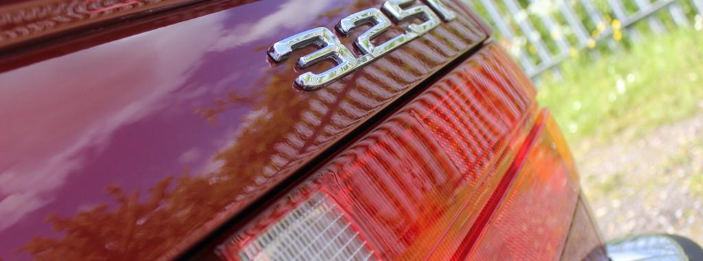 BMW E30 325i Cabriolet, Gloss Enhancement 'Plus' – Part Two
