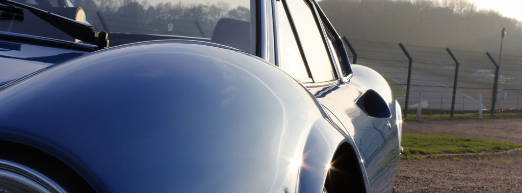 Paintwork Restored For A Rare 1972 Azzurro Dino 246 GT Berlinetta