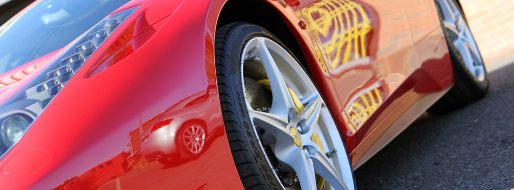 Glasur Finish Restored On A Rosso Corsa Ferrari 458 Italia