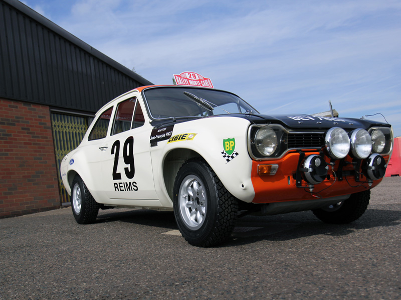 Jean Todt Ex-Works Ford Escort Mk1 Rally Saloon - Paint Correction & Show Car Preparation