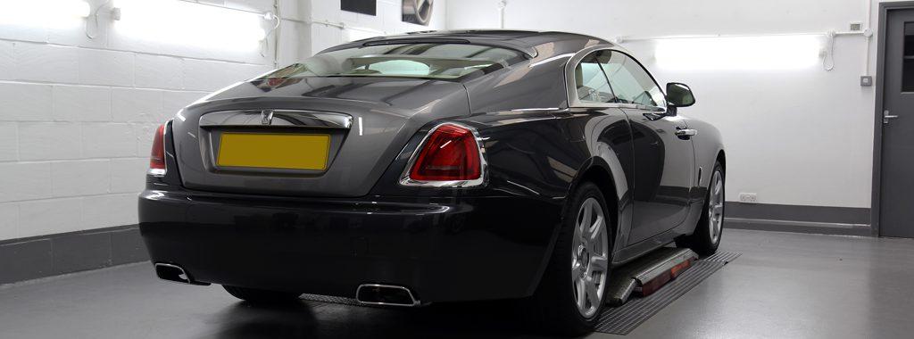 Rolls Royce Wraith - Miyabi Enhances The Spirit Of Ecstasy
