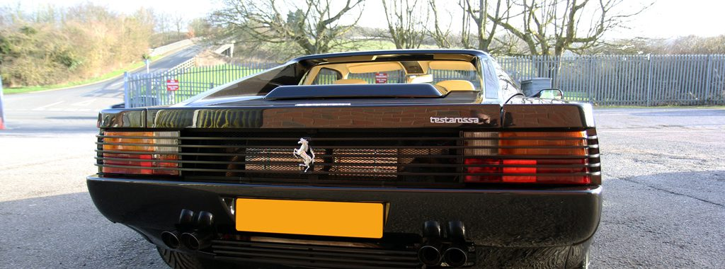 1991 Ferrari Testarossa - Designed by Pininfarina, Detailed by UF