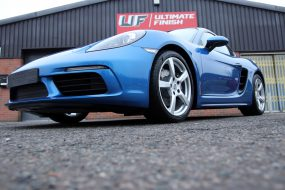 Dual Layer New Car Protection For a Porsche 718 Cayman