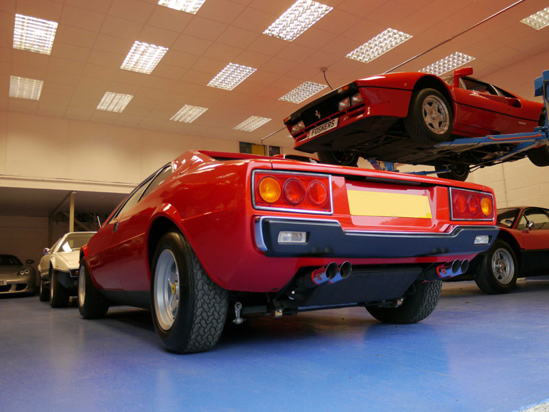 Ferrari 308 GT4 Concours prepared at Ultimate Detailing Studio