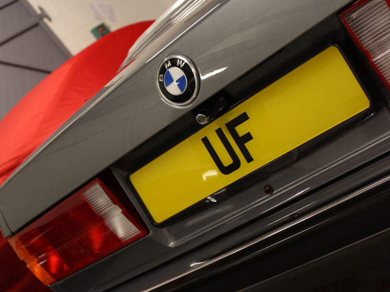 1990 BMW E30 325i Cabriolet - Gloss Enhancement Treatment