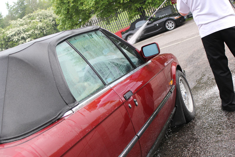 BMW E30 325i Cabriolet, Gloss Enhancement 'Plus' - Part One