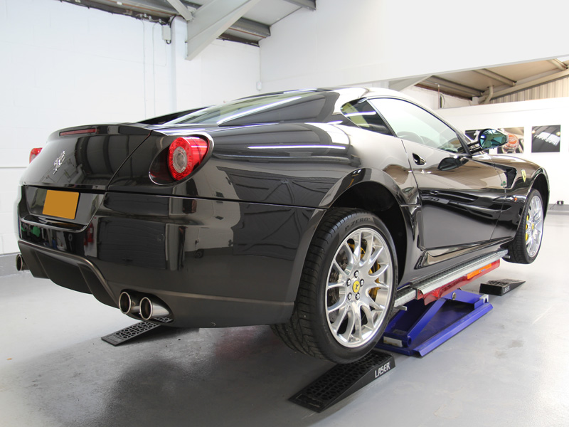 Ferrari 599 Receives GEN-3GLASSCOAT Protection