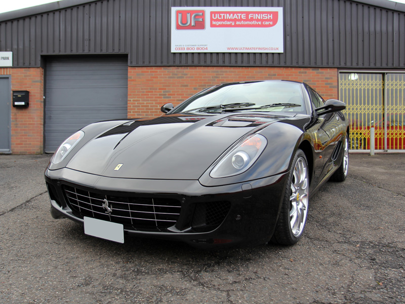 Ferrari 599 Receives GEN-3 GLASSCOAT Protection