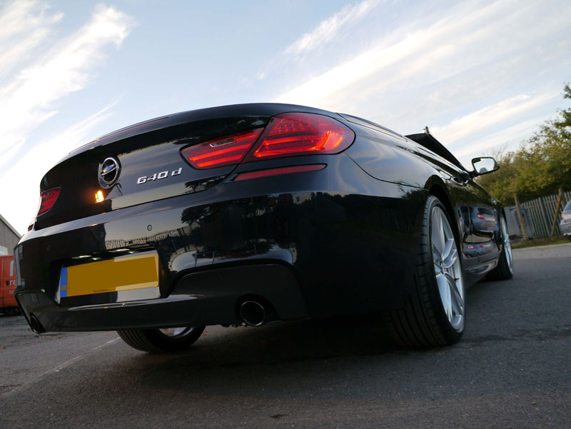 BMW 640d M-Sport Cabriolet - New Car Protection