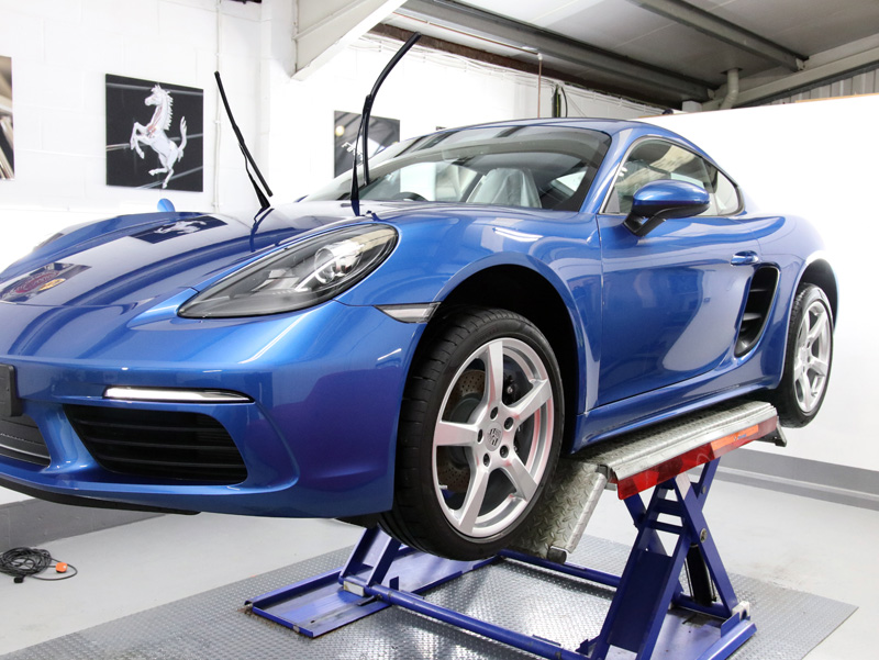 2018 Porsche 718 Cayman - New Car Protection