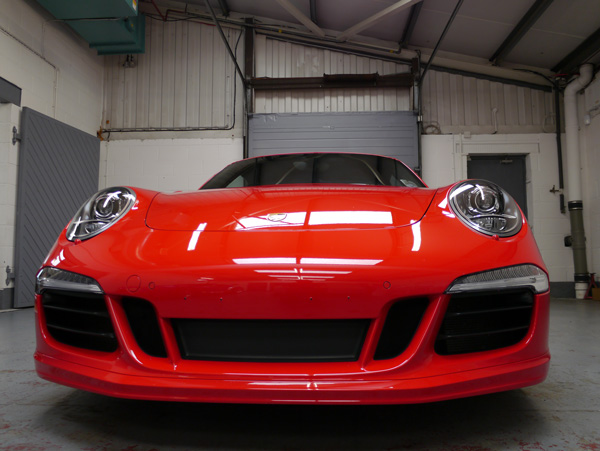 Porsche 911 991 Carrera S PDK - machine polished using 3M products