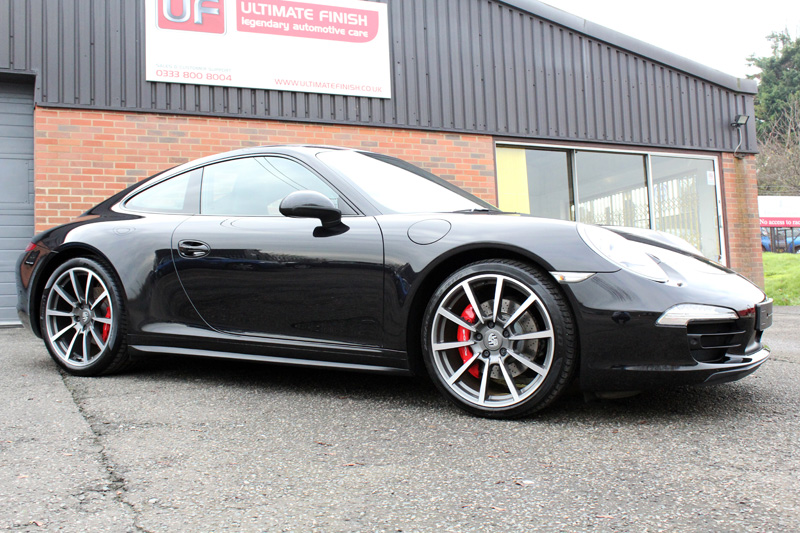 Porsche 991 C4S Paintwork Correction Treatment