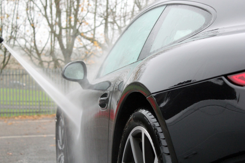 Porsche 911 991 C4S Paintwork Correction Treatment
