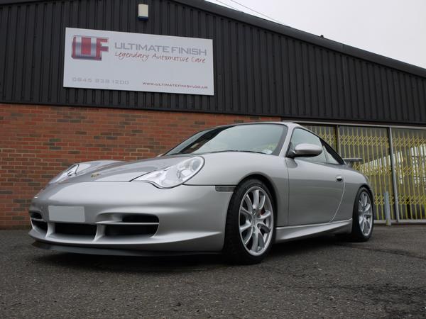 Ultimate Detailing Studio - Porsche 911 996 GT3 22PLE Glass Protection Treatment