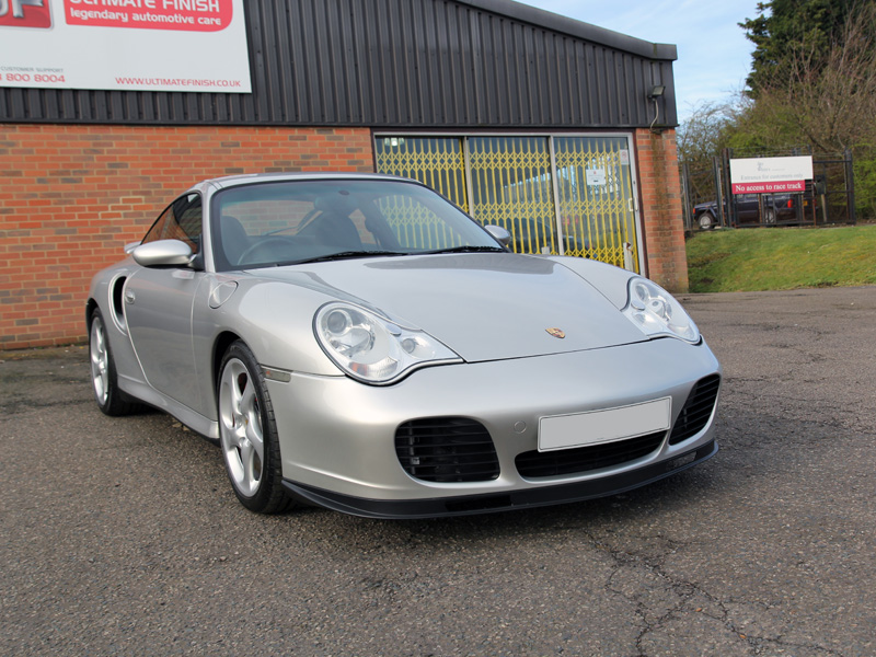 Porsche 911 996 Turbo - Gloss Enhancement Treatment