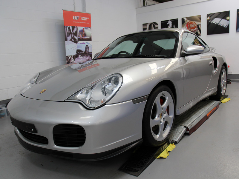 Porsche 911 996 Turbo   Gloss Enhancement Treatment