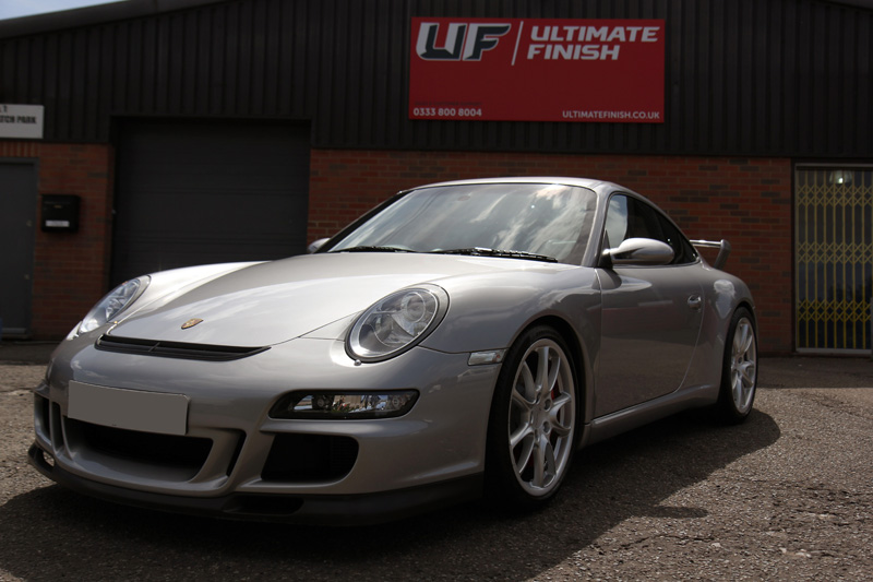 Porsche 911 997 GT3   Gloss Enhancement Treatment