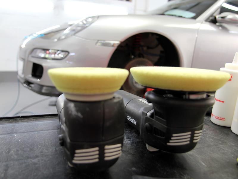 Porsche 911 997 GT3   Gloss Enhancement Treatment