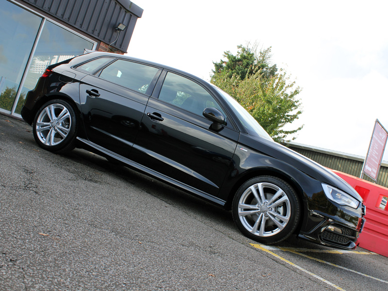 Audi A3 S-Line Quattro Sportback 1.8TFSi New Car Protection Treatment