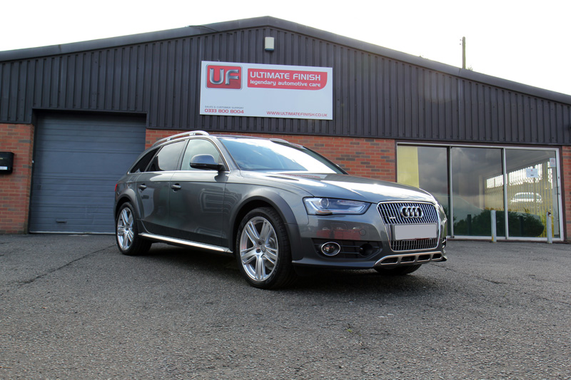 Audi A4 Allroad New Car Protection Treatment