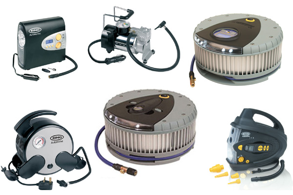 Selection of Tyre Inflators available at Ultimate Finish