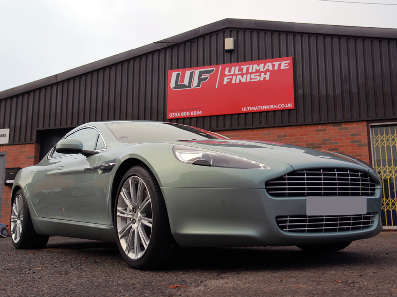 Aston Martin Rapide - Gloss Enhancement Treatment