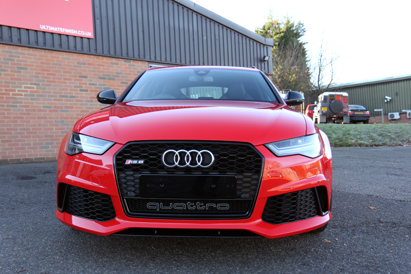 Audi RS6 Avant 2016 - Gloss Enhancement Treatment