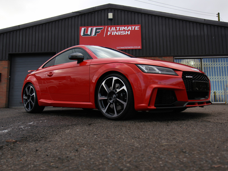 Audi TT RS Coupe - New Car Protection Treatment