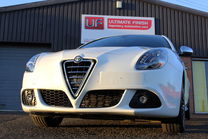 Alfa Romeo Giulietta Sportiva Gloss Enhancement Treatment