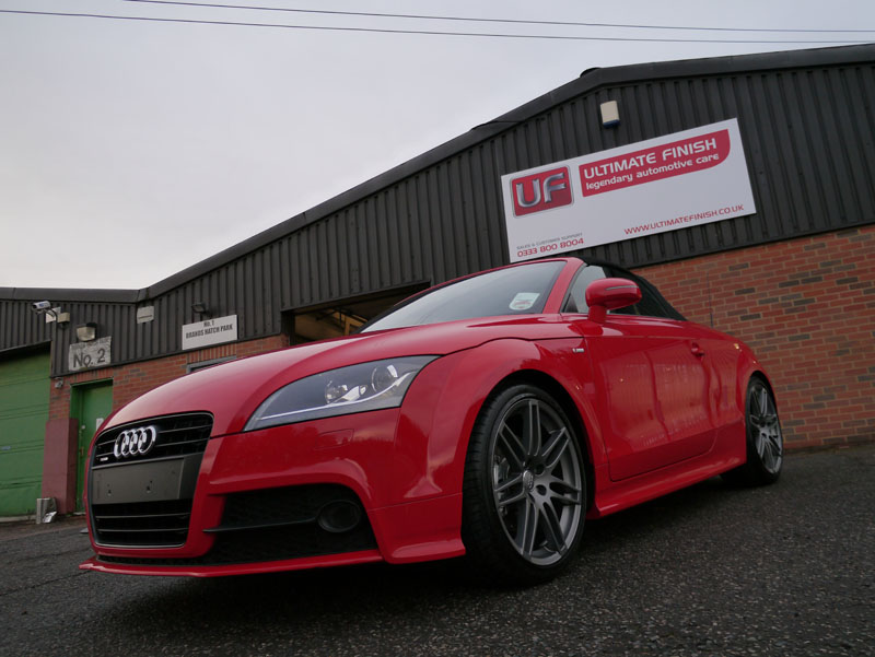 Audi TT Roadster Quattro 'Black Edition' - New Car Protection