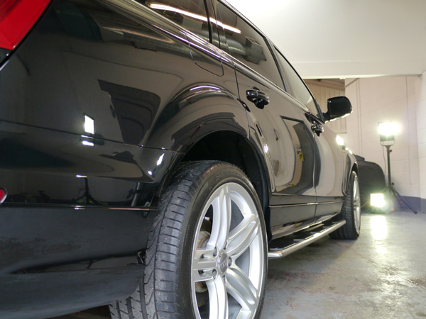 Audi Q7 Gloss Enhancement Treatment