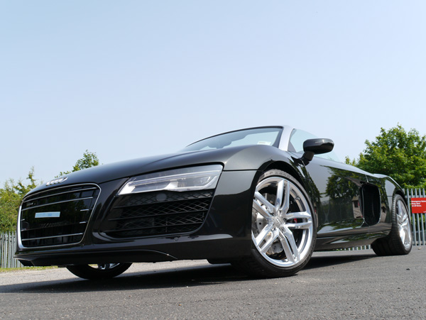 New Car Protection Treatment   Audi R8 V10 5.2 FSI Quattro
