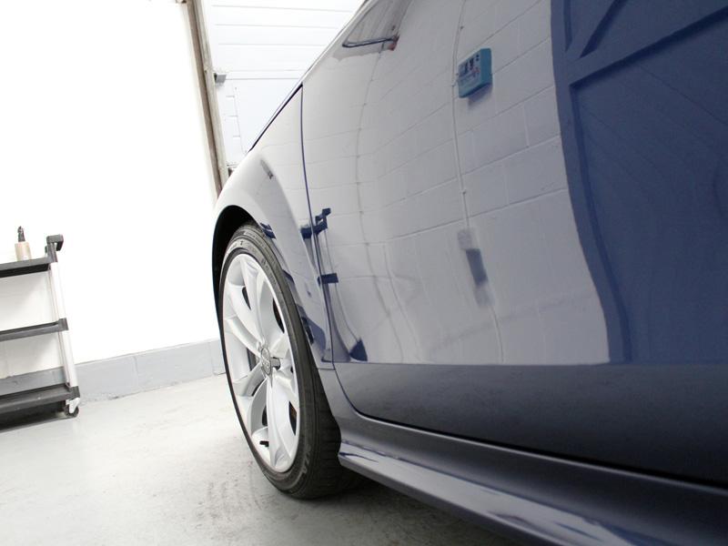 Audi TTS - Gloss Enhancement Treatment