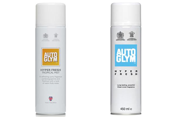 Autoglym Hyper Fresh - 2 second burst for long lasting freshness for your car's interior