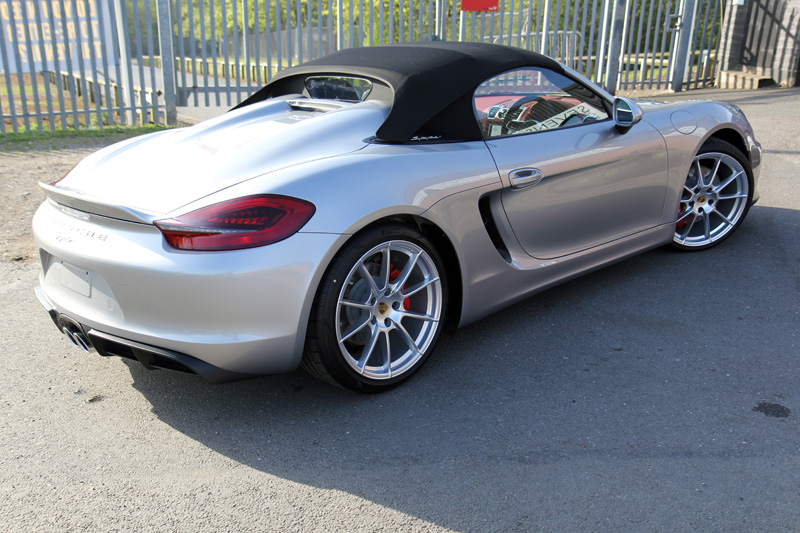 Porsche Boxster Spyder   New Car Protection Treatment