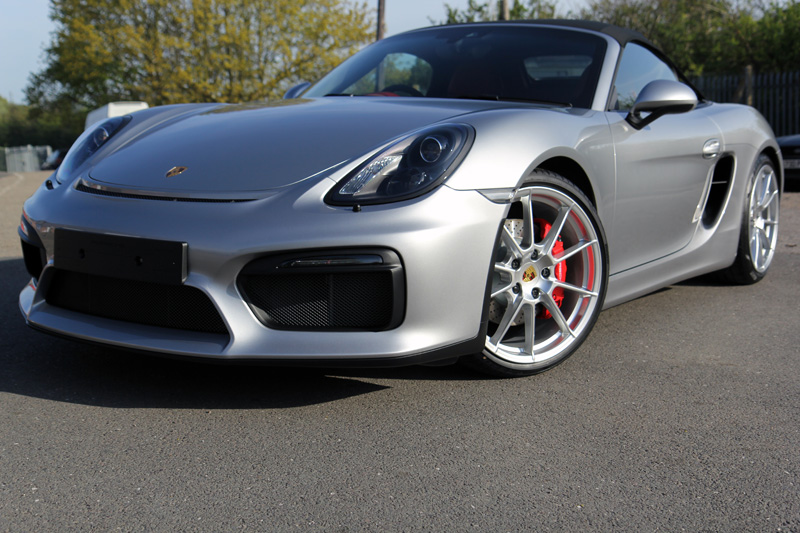 Beau Porsche Boxster Spyder   New Car Protection Treatment
