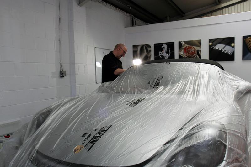 Porsche Boxster Spyder - New Car Protection Treatment