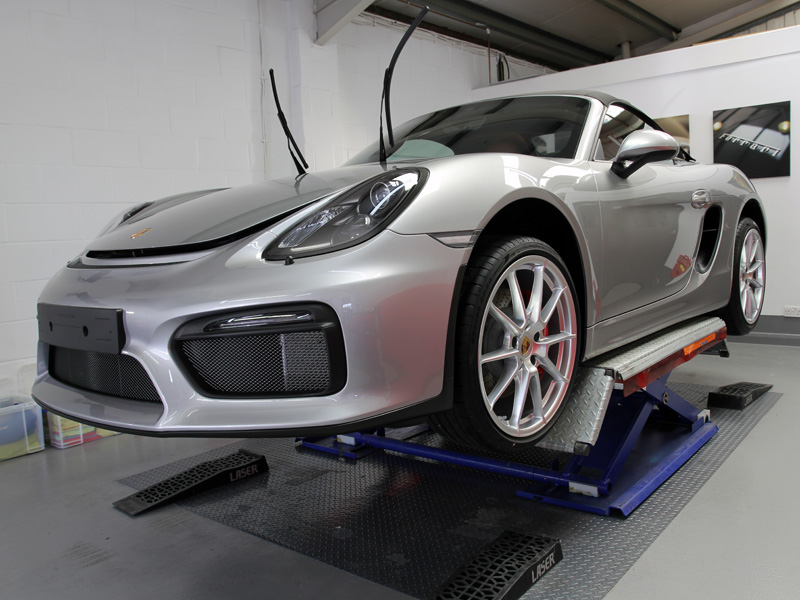 Attirant Porsche Boxster Spyder   New Car Protection Treatment