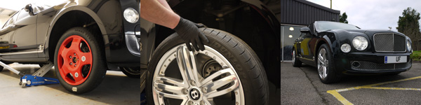 Vibration Polishing Wheels - Bentley Mulsanne