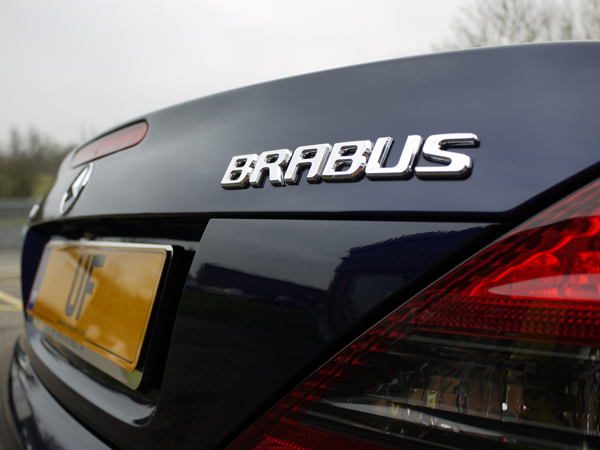 Mystic Blue Pearl Effect Metallic Mercedes SL 500 Brabus receives Gloss Enhancement Treatment at Ultimate Detailing Studio