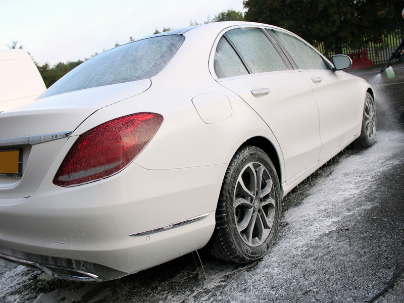 Mercedes C-Class Receives New Car Protection In Time For Winter