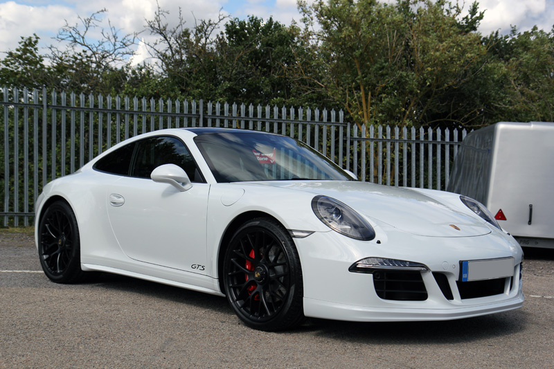 Porsche 911 Carrera GTS New Car Protection Treatment
