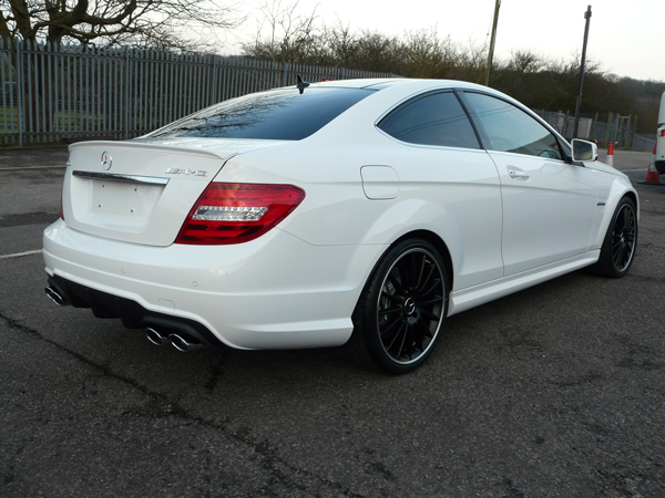 Gtechniq's new EXO v2 on a new Mercedes C63 AMG.