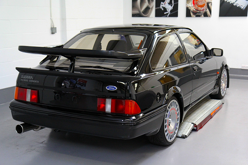 Ford Sierra Cosworth Paint Correction & Show Detail