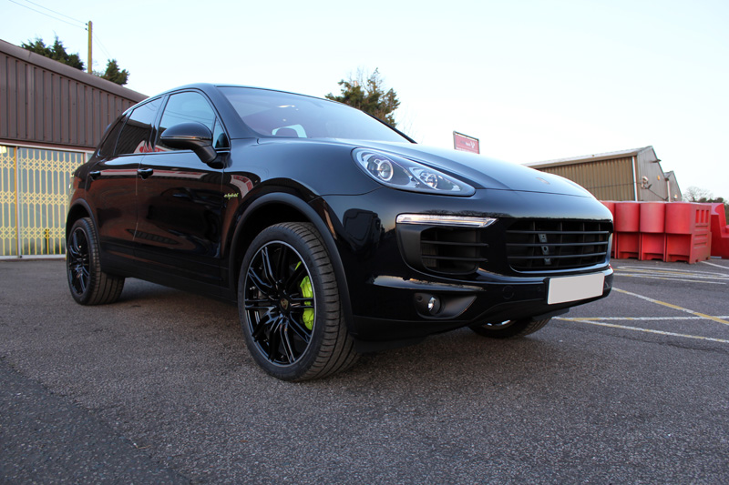 Porsche Cayenne S E-Hybrid New Car Protection Treatment