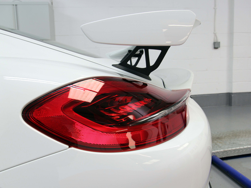 Porsche Cayman GT4 - New Car Protection Treatment
